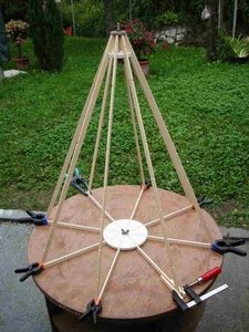 Verleimte Holzkonstruktion